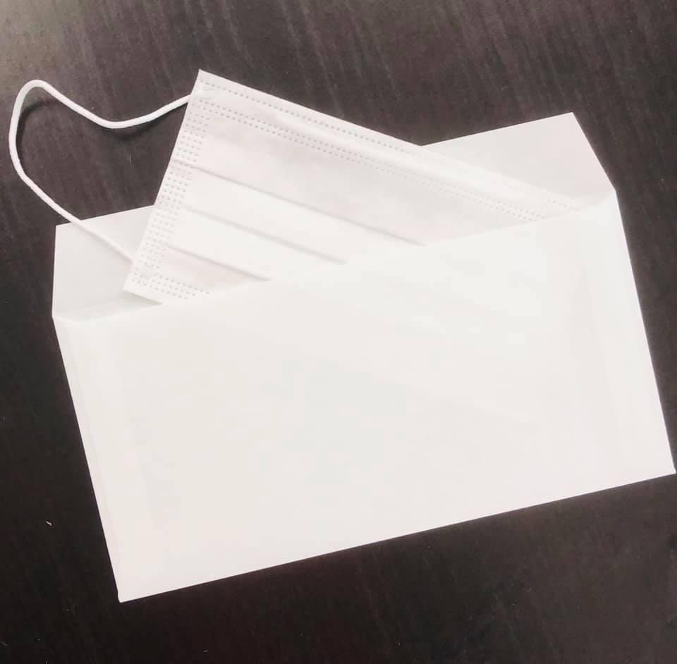 抗菌和紙マスクケース マスクカバー コロナ感染対策予防グッズ 非接触グッズ